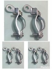 6 x VINTAGE BIKE-CYCLE-BICYCLE OF ROD BRAKE CLIPS HIGH QUALITY
