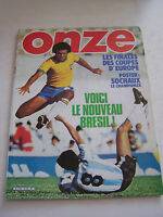 MAGAZINE FOOTBALL ONZE N° 65 EN TRES BON ETAT . VOIR DESCRIPTIF .