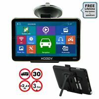 XGODY 560 5'' SAT NAV GPS Navigation System Bluetooth Free 2D 3D Map Lane Assist