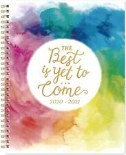 """Planner 2020-2021- Academic Weekly & Monthly Planner with Twin-Wire Binding, 8"""""""