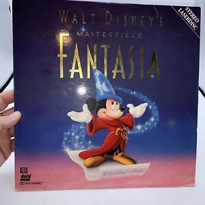 Fantasia Laserdisc Walt Disney 2-Disc Masterpiece Laserdisc