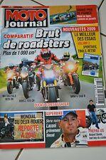 MOTO JOURNAL N°1858 BUELL 1125 CR BMW K 1300 R GRAND PRIX DE FRANCE LE MANS 2009