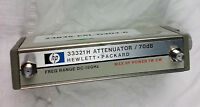 Agilent Programmable Step Attenuator HP 33321H 70 dB DC-18 GHz