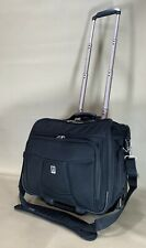 "Travelpro Crew 6 Black 16"" Wheeled Carry On Rolling Tote Weekender Bag 407061301"