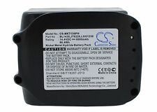 14.4V Battery for Makita BDF442 BDF442RFE BDF444RFE 194065-3 Premium Cell UK NEW