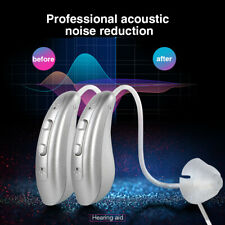 JH-D26 1Pair Rechargeable Digital Hearing Aid Severe Loss Sound Amplifiers BTE