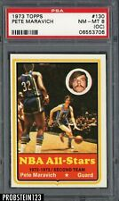 1973 Topps #130 Pete Maravich RC Rookie PSA 8 NM-MT (OC)
