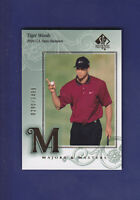 Tiger Woods 2002 Upper Deck Golf SP Authentic #138 Serial #0290/3499