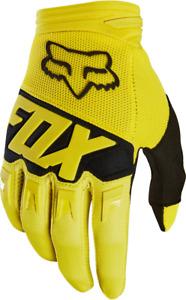 Fox Racing Dirtpaw Race Glove Yellow