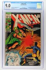 X-Men #54 - Marvel 1969 CGC 9.0 1st Appearance of Alex Summers (later becomes Ha