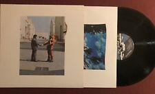 PINK FLOYD - Wish You Were Here  - 1975 vinyl LP orig blue wrap inc.  NM USA