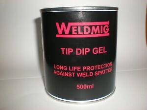 Tip Dip Anti Spatter Gel / Paste (500ml) for Mig Welding