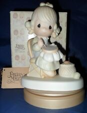 """RETIRED PRECIOUS MOMENTS FIGURINE  """"MOTHER SEW DEAR""""  ~FREE SHIPPING~"""