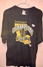 2010 New Orleans Saints SUPER BOWL XLIV Champions WE DAT STATE XL Local T-SHIRT!