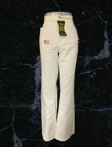 BNWT Not Your Daughters Tummy Tuck Cream Jeans Size 2 ( UK 6 )