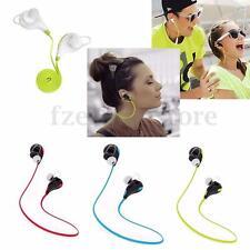 Wireless Bluetooth 4.1 Sports Headset Headphone Earphone Mic For iPhone 6 S Plus