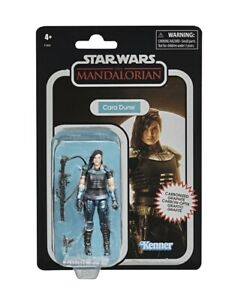 Star Wars The Mandalorian Vintage Collection Carbonized 3.75'' Cara Dune 🚀 🧊