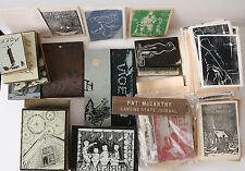 1960's P. McCarthy Lansing State Journal custom made Christmas cards & supplies