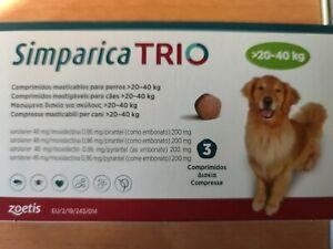 Simparica 20-40kg (3 comprimidos)