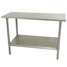 """Central Exclusive Tts308X Stainless Steel Work Table - 96""""Wx30""""D"""