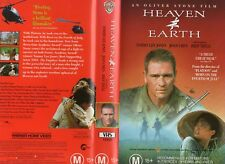 HEAVEN AND EARTH-Oliver Stone  -VHS -PAL -NEW -Never played!-Original Oz release