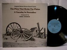 The Plow That Broke The Plains / A Tuesday In November OST VIRGIL THOMSON EX!