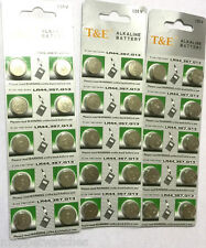 30 x LR44 357 AG13 LR1154 BATTERY ALKALINE 1.55v BUTTON COIN CELL Expiry 12/18