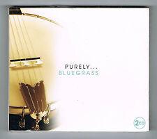 PURELY... BLUEGRASS - 48 TITRES - COFFRET 2 CD SET - NEUF NEW NEU