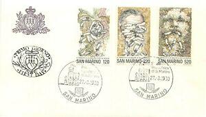 San Marino, FDC - Giornata della sanità (lotta contro il tabacco), 27/03/1980