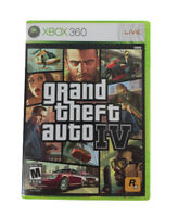 Xbox 360 Video Game Grand Theft Auto IV Manual 2008 Map City Street Car