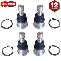 4 Upper Lower Front Ball Joints for Polaris RZR 570 800 900 All Models 10-14