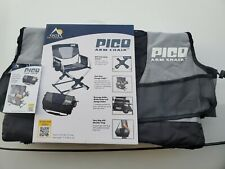 GCI Pico Compact Folding Camping Hiking Chair Carry Bag Black Glamping