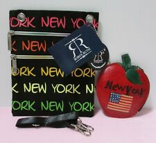 Robin Ruth New York Small Shoulder/Crossbody Bag with Rainbow Zippers and New Yo