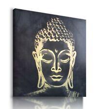GOLDEN Gautama Buddha INDIA Canvas Wall Art Picture  B5 MATAGA...