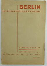 Buch: Berlin nach 40 photographischen Aufnahmen - Stadt im Bild e967