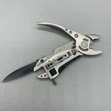 Jeep Multi-Tool Adjustable Wrench Jaw Screwdriver Plier Knife Survival Gear
