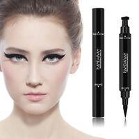 Black Cat Eyeliner Vamp Pen Stamp Seal Winged Head Waterproof Makeup Eye Liner