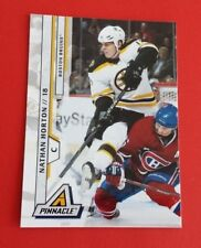 2011/12 Pinnacle Hockey Nathan Horton Card #183***Boston Bruins***