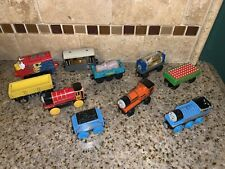 Vintage Thomas The Train Wooden Lot of Train Cars ##1358
