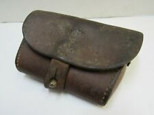 Swedish M94 Mauser Carbine Ammo Pouch Leather M94/14 Mounted Calvary Engineer