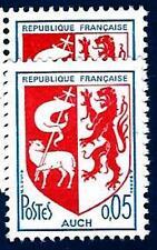 VARIÉTÉ N°:1468 (Ecusson déplacé a droite sur couleur bleu-clair) Neuf**