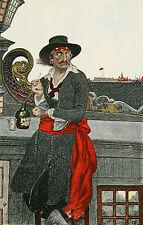 """Howard Pyle, Pirata Capitán Kidd """" 12x8 Pulgadas Repro de impresión de arte"""