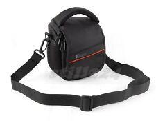 Fuji FinePix AV240 Camera Bag Shoulder Strap Memory Card Mobile Card Pocket