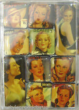 10 STARLETS MIGHTY LUCY LU DESIGNS MAGNETS IN PLASTIC CASE MAGNET