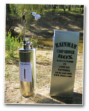 "Camp Shower 12 Lt.Portable Camping/4WD ""RAINMAN and BOX"""