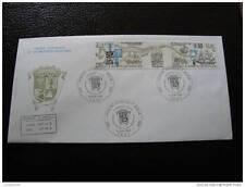 TAAF enveloppe 1er jour 6/8/85 - timbre - yver et tellier aerien n°91A (cy4) (A)