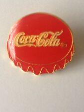 PIN´S COCA COLA CAP - PINS CHAPA TAPON COCA-COLA COKE - DRINK BEBIDA (E0545)
