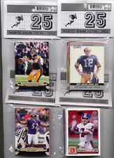 (20) 25-Card Football Packs Great Party Favors (10-pack $14.95 FREE Ship)