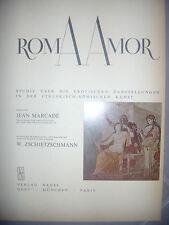 Erotisme: Die Erotischen Darstellungen in der Etruskisch-Romischen Kunst, 1968