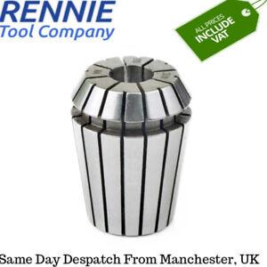 Rennie Tool Spring Collets ER11 ER16 ER20 ER25 ER32 All Metric & Imperial Sizes